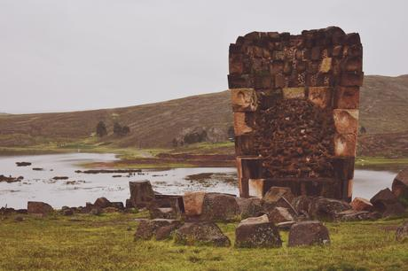 A Cold Rainy Afternoon in Sillustani