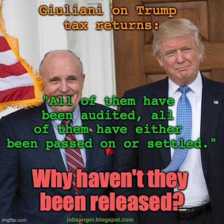 Biden Released Tax Returns - Trump Is Still Hiding His