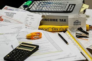 Image: Income Tax, by Steve Buissinne on Pixabay