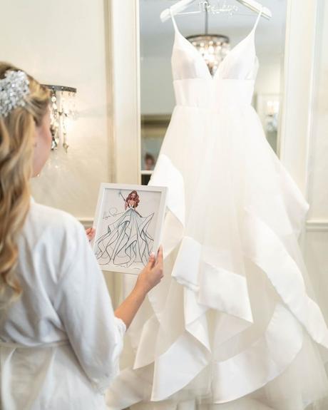 wedding planning timeline bride dress