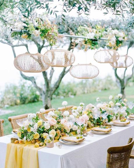 wedding planning timeline table setting floral centerpiece venue