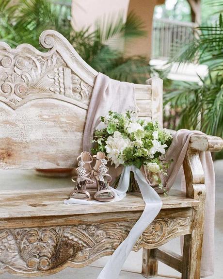 wedding planning timeline flowers bouquet bride shoes