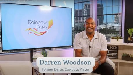Darren Woodson Helps Rainbow Days Tackle Virtual Fundraiser