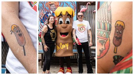 Fletcher's Original Corny Dogs Celebrates National Tattoo Day