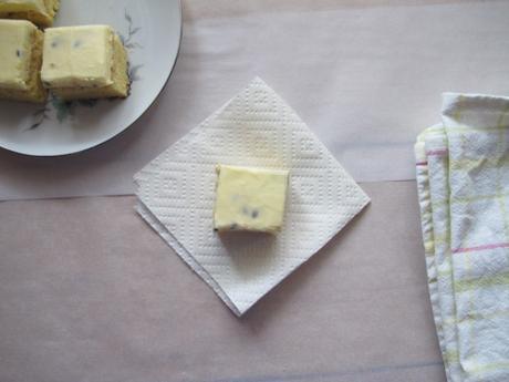 Shortbread slice – three ways (chocolate icing, passionfruit icing, jaffa style)