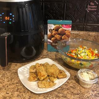 Falafel Air Fried Chicken ~ The Dreams Weaver