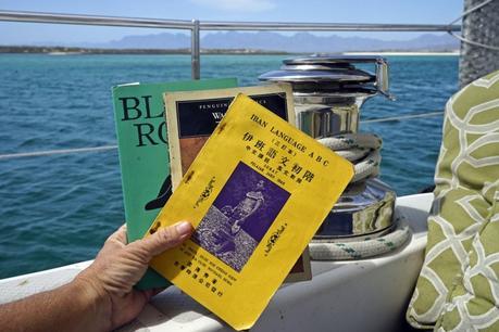 Bookaholic while cruising