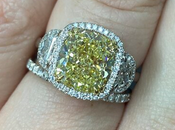 Brighten Your With Fancy Colored Diamond