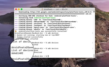 How to Setup ADB on Mac and install TWRP on Android (Apple user's manual)