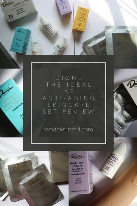 Dione The Ideal Lab Skincare Set Review | Sponsored