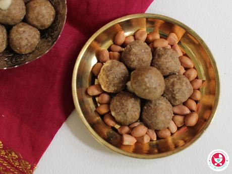 Peanut Ladoo for Kids [No Sugar Groundnut Ladoo Recipe]