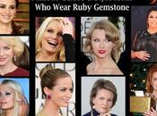 Famous Celebs Style Icons Wear Ruby Gemstone