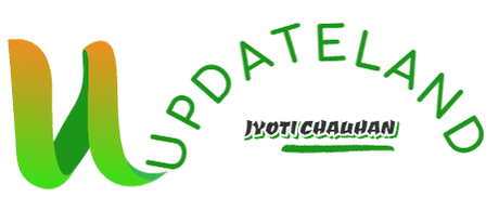UpdateLand logo designed by DesignEvo