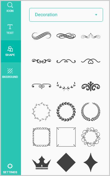DesignEvo Shapes