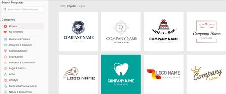 DesignEvo PreDesigned Logo Templated