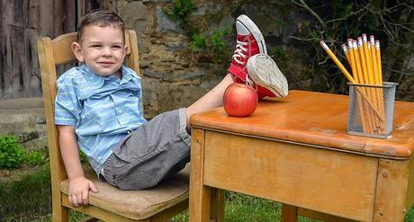 Image: Young boy at school desk, by Francine Sreca on Pixabay