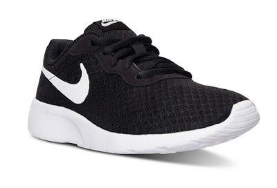 Image: Nike Big Kids' Tanjun Casual Sneakers from Finish Line at Macy's