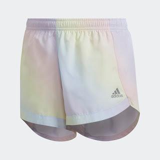 Image: Iridescent Print Shorts at adidas