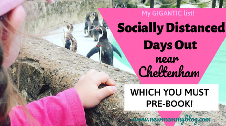 Socially Distanced days out near Cheltenham – which you must PRE-BOOK