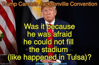 Trump Cancels Convention (But Not For Reason He Gave)
