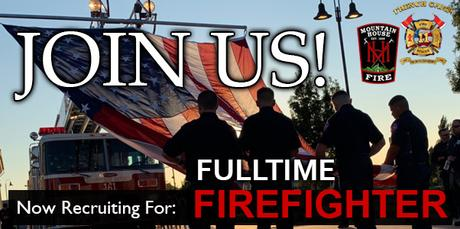 Fulltime Firefighter Recruitment for French Camp and Mountain House Communities