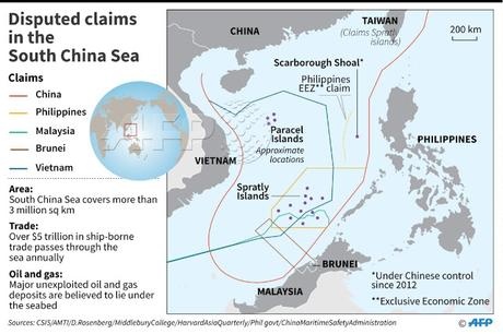 Australia files declaration against China's claims to islands in South China sea