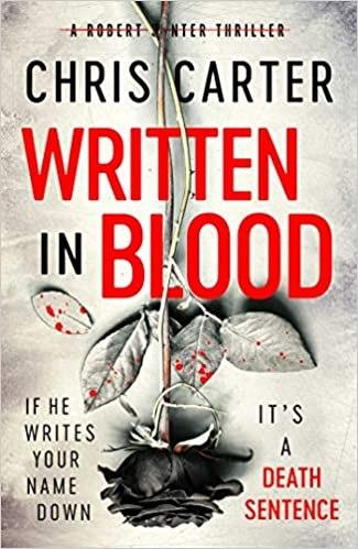 #WrittenInBlood by Chris Carter