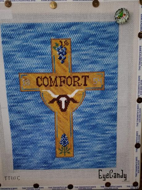 Comfort Cross is Stitched!!