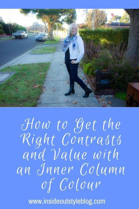 How to Get the Right Contrasts and Value with an Inner Column of Colour