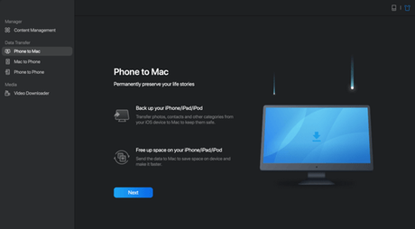 How to transfer files from iPhone to Mac
