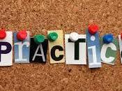 Practice, Practice....Practice