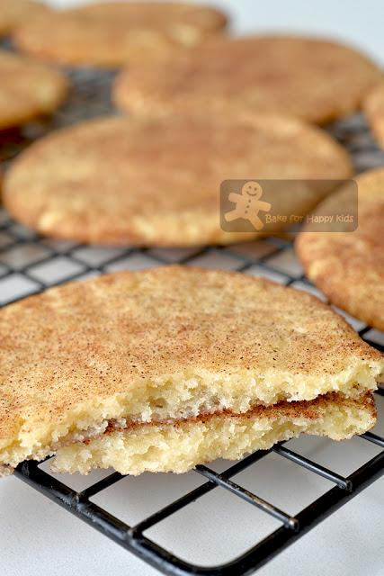 best soft chewy snickerdoodles