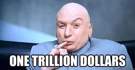 ONE TRILLION DOLLARS | Dr evil, Austin powers, Dumb criminals