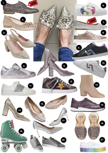 21 sparkly shoes for when you need to shine bright