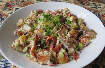 Creamy Roasted New Potato Salad