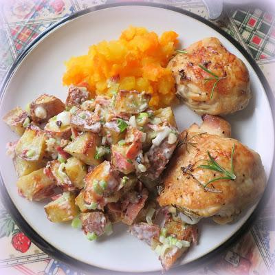 Creamy Roasted Potato Salad