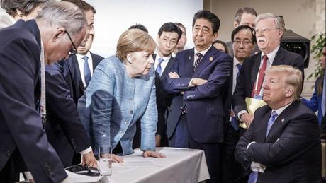 Trump's bashing of Angela Merkel might help her keep a grip on ...