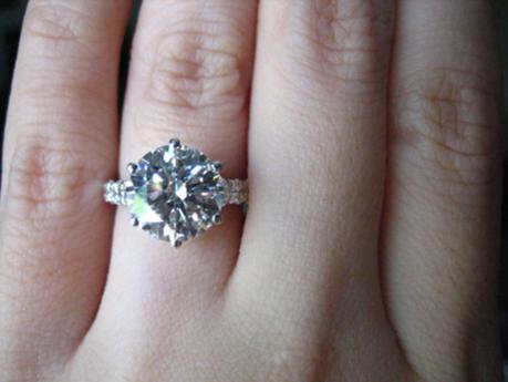 Stunning Engagement Ring Upgrade