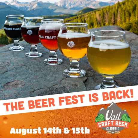 The Beer Fest is Back: Win Tickets to Vail Craft Beer Classic