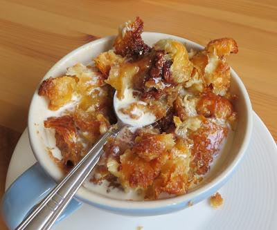 Chocolate Box Bread Pudding for Two