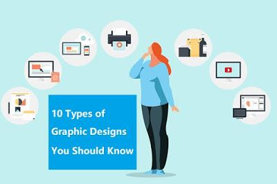 10 Types of Graphic Designs You Should Know