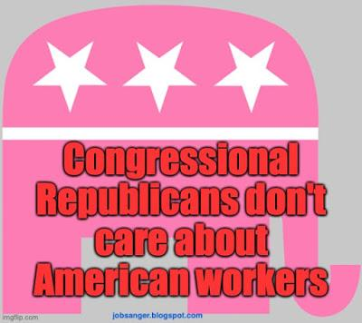 Congressional GOP Proves It Doesn't Care About Workers