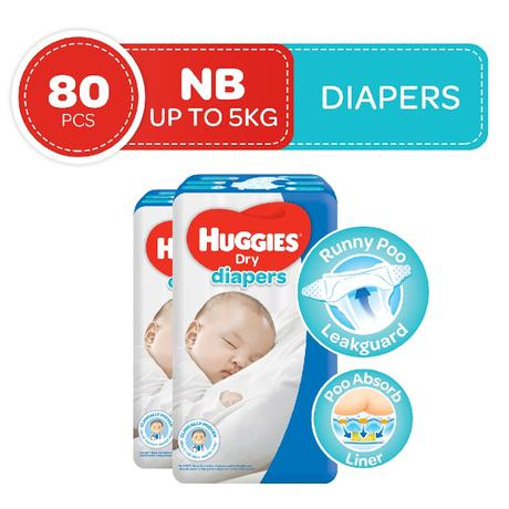 Liam's comfy Huggies diapers are on Deals Up to 28% off at Shopee