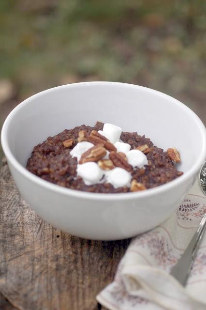 Slow Cooker Sunday: Rocky Road Oatmeal