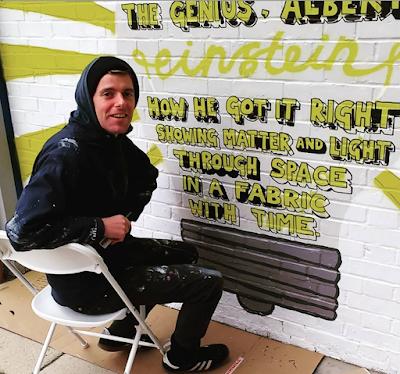 Angry Dan Street Art Treasure Hunt in Walthamstow