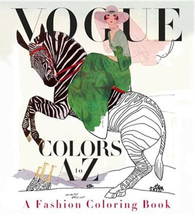 Vogue Colurs A to Z: A Fashion Colouring Book