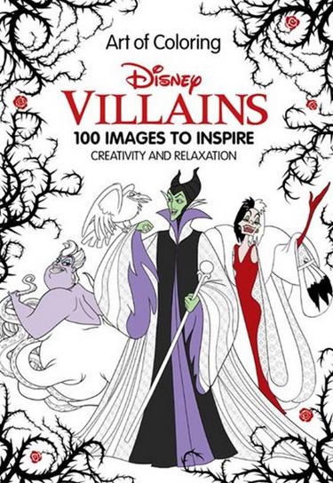 Art of Coloring: Disney Villains