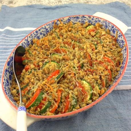 Zucchini  and Tomato Tian