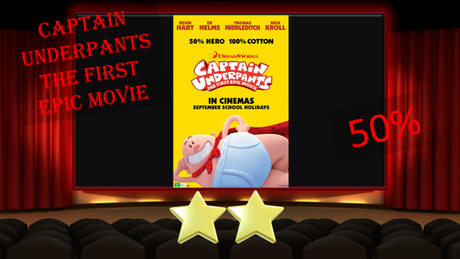 ABC Film Challenge – Animation – C – Captain Underpants: The First Epic Movie (2017) Movie Thoughts