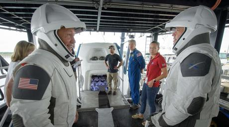 SpaceX Crew Dragon Splashed Down in Florida Yesterday